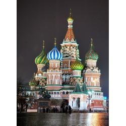 Topný obraz - Rusko