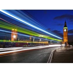 Topný obraz - Noční život v Londýně