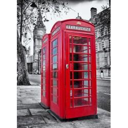 Topný obraz - Londýnské telefonní budky
