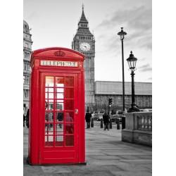 Topný obraz - Červená Londýnské telefonní budka