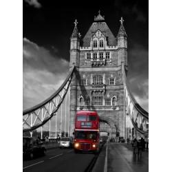 Topný obraz - Londýnský červený autobus