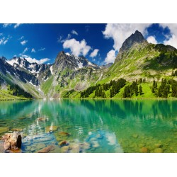 Topný obraz - Jezero