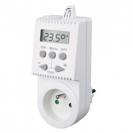 Zásuvkový termostat TS05