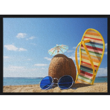 Topný obraz - Wilsson na pláži