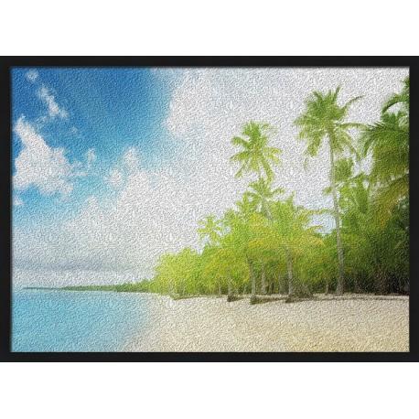 Topný obraz - Palmová pláž