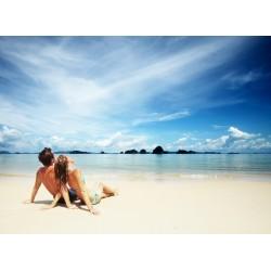 Topný obraz - Pár na pláži