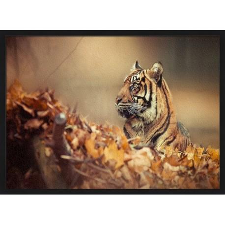 Topný obraz - Tygr v listí