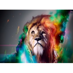 Topný obraz - Fantasy lev