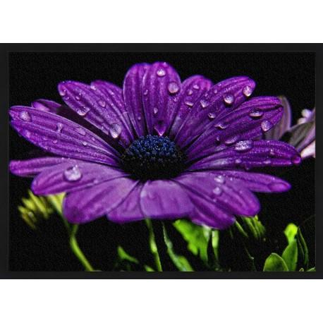 Topný obraz - Fialový květ