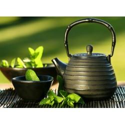 Topný obraz - Zelený čaj