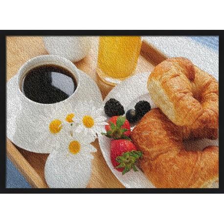 Topný obraz - Snídaně