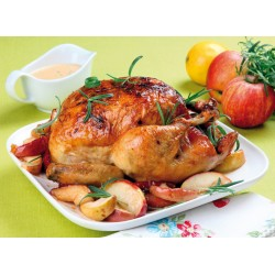 Topný obraz - Pečené kuře