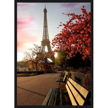 Topný obraz - Eiffelova věž