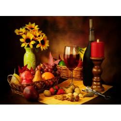 Topný obraz - Romantická večeře