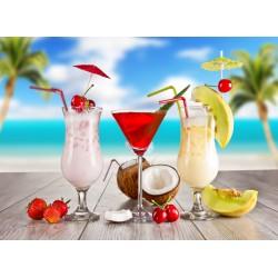 Topný obraz - Plážové koktejly
