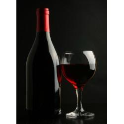 Topný obraz - Víno