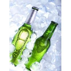 Topný obraz - Lahve piva