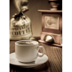 Topný obraz - Káva