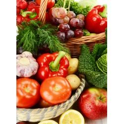 Topný obraz - Zeleninové košíky