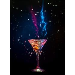 Topný obraz - Koktejl