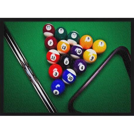 Topný obraz - Billiard