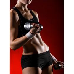 Topný obraz - Fitness