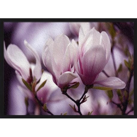Topný obraz - Fialové květy