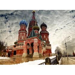Topný obraz - Chrám Vasila Blaženého