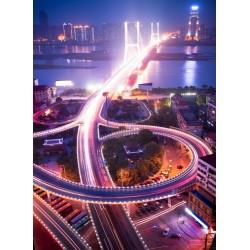 Topný obraz - Shanghai