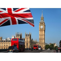 Topný obraz - Velká Británie