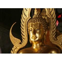 Topný obraz - Zlatá sochy Buddhy