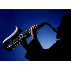 Topný obraz - Saxofon