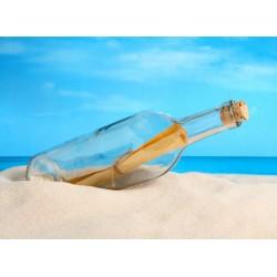 Topný obraz - Vzkaz v láhvy