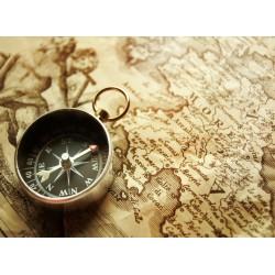 Topný obraz - Kompas