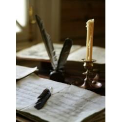 Topný obraz - Stůl zapisovatele