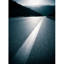 Topný obraz - Silnice