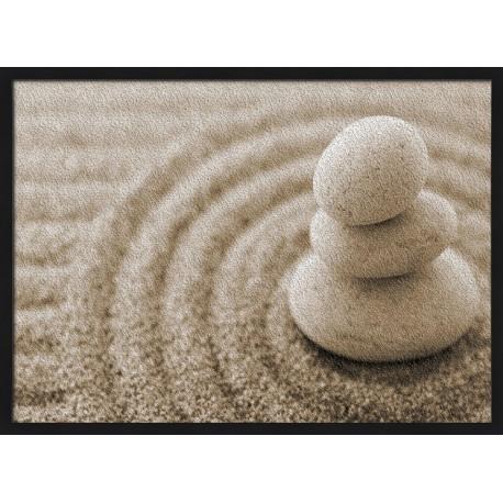 Topný obraz - Kamínky v písku