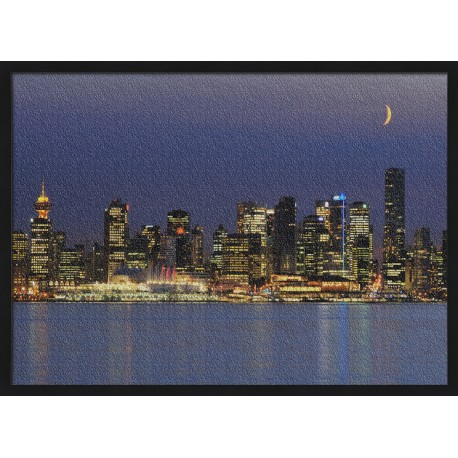 Topný obraz - Světla velkoměsta