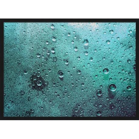Topný obraz - Kapky deště