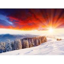 Topný obraz - Zimní krajina