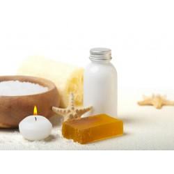 Topný obraz - Relaxační sůl a svíčka