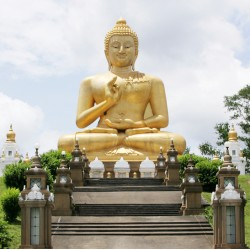 Topný obraz - Buddha
