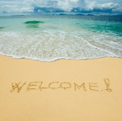 Topný obraz - Welcome
