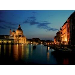 Topný obraz - Noční Benátky