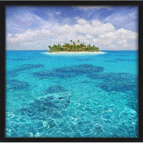 Topný obraz - Ostrov