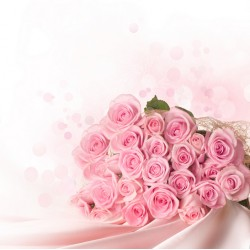 Topný obraz - Svatební kytice