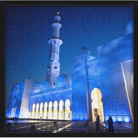 Topný obraz - Mešita