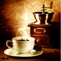 Topný obraz - Káva a mlýnek