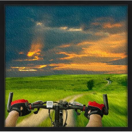 Topný obraz - Cyklistika