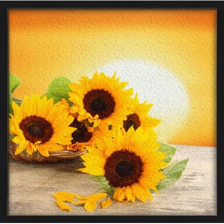 Topný obraz - Květy slunečnic